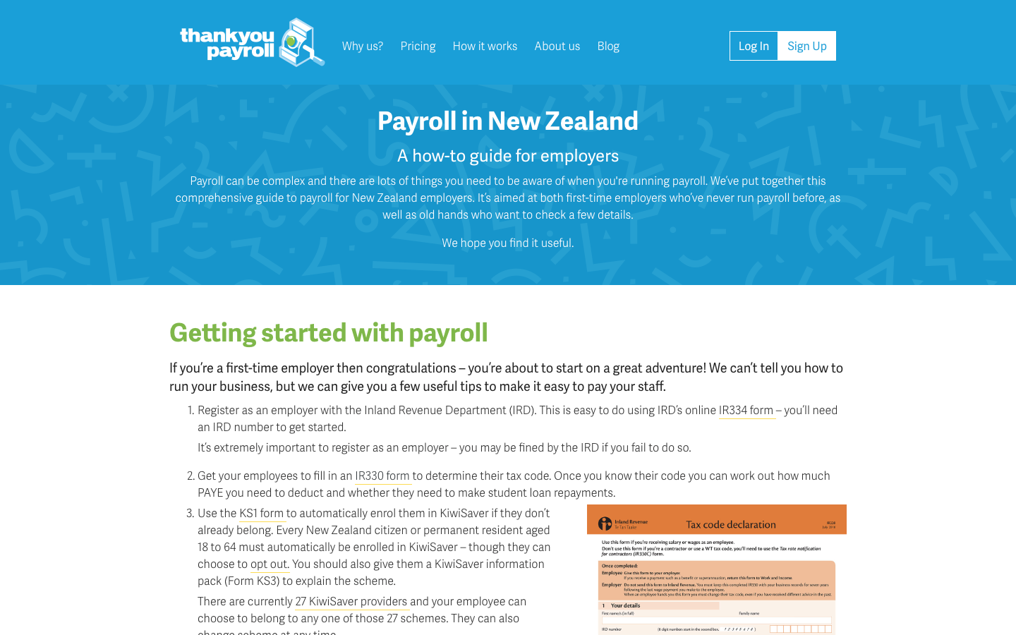 Guide to Payroll in New Zealand